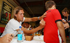 Jannik Vestergaard during a Southampton FC signing session at St Marys Stadium, Southampton, 20th August 2018
