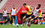 Sam Gallagher. Southampton FC team photo and open training session at St Mary's Stadium, Southampton                                Picture: Chris Moorhouse               Monday 20th August 2018             FOR EDITORIAL USE ONLY