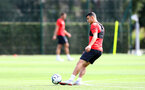 SOUTHAMPTON, ENGLAND - AUGUST 23: Mohamed Elyounoussi during a Southampton FC training session at the Staplewood Campus on August 23, 2018 in Southampton, England. (Photo by Matt Watson/Southampton FC via Getty Images)
