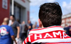 SOUTHAMPTON, ENGLAND - AUGUST 25: Southampton fan during the Premier League match between Southampton FC and Leicester City at St Mary's Stadium on August 25, 2018 in Southampton, United Kingdom. (Photo by Chris Moorhouse/Southampton FC via Getty Images)