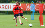SOUTHAMPTON, ENGLAND - AUGUST 27: Matt Targett during a Southampton FC training session at the Staplewood Campus on August 27, 2018 in Southampton, England. (Photo by Matt Watson/Southampton FC via Getty Images)