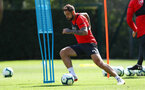 SOUTHAMPTON, ENGLAND - AUGUST 30: Danny Ings during a Southampton FC training session at Staplewood the Campus on August 30, 2018 in Southampton, England. (Photo by Matt Watson/Southampton FC via Getty Images)