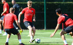 SOUTHAMPTON, ENGLAND - AUGUST 30: Stuart Armstrong during a Southampton FC training session at Staplewood the Campus on August 30, 2018 in Southampton, England. (Photo by Matt Watson/Southampton FC via Getty Images)