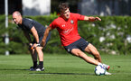 Sam Gallagher during a Southampton FC training session, at the Staplewood Campus, Southampton, 6th September 2018