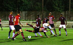 SOUTHAMPTON, ENGLAND - SEPTEMBER 21: during the PL2 match between Southampton FC and Aston Villa FC at Staplewood Training Ground on September 21, 2018 in Southampton, United Kingdom. (Photo by James Bridle - Southampton FC/Southampton FC via Getty Images)