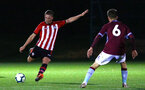 SOUTHAMPTON, ENGLAND - SEPTEMBER 21: Ben Rowthorn (left) during the PL2 match between Southampton FC and Aston Villa FC at Staplewood Training Ground on September 21, 2018 in Southampton, United Kingdom. (Photo by James Bridle - Southampton FC/Southampton FC via Getty Images)