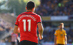 WOLVERHAMPTON, ENGLAND - SEPTEMBER 29: Mohamed Elyounoussi of Southampton during the Premier League match between Wolverhampton Wanderers and Southampton FC at Molineux on September 29, 2018 in Wolverhampton, United Kingdom. (Photo by Matt Watson/Southampton FC via Getty Images)