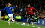 LIVERPOOL, ENGLAND - OCTOBER 02: Nathan Redmond of Southampton during the Carabao Cup Third Round match between Everton and Southampton at Goodison Park on October 2nd, 2018 in Liverpool, England. (Photo by Matt Watson/Southampton FC via Getty Images)