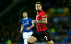 LIVERPOOL, ENGLAND - OCTOBER 02: Danny Ings of Southampton during the Carabao Cup Third Round match between Everton and Southampton at Goodison Park on October 2nd, 2018 in Liverpool, England. (Photo by Matt Watson/Southampton FC via Getty Images)