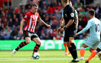 SOUTHAMPTON, ENGLAND - OCTOBER 07: Pierre-Emile Hojbjerg of Southampton during the Premier League match between Southampton FC and Chelsea FC at St Mary's Stadium on October 7, 2018 in Southampton, United Kingdom. (Photo by Matt Watson/Southampton FC via Getty Images)