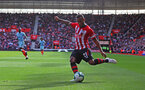SOUTHAMPTON, ENGLAND - OCTOBER 07: Ryan Bertrand of Southampton during the Premier League match between Southampton FC and Chelsea FC at St Mary's Stadium on October 7, 2018 in Southampton, United Kingdom. (Photo by Matt Watson/Southampton FC via Getty Images)