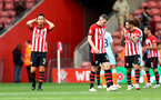 SOUTHAMPTON, ENGLAND - OCTOBER 07: Maya Yoshida(L) of Southampton during the Premier League match between Southampton FC and Chelsea FC at St Mary's Stadium on October 7, 2018 in Southampton, United Kingdom. (Photo by Matt Watson/Southampton FC via Getty Images)