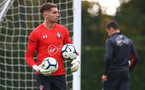 SOUTHAMPTON, ENGLAND - OCTOBER 11: Harry Lewis during a Southampton FC training session at the Staplewood Campus on October 11, 2018 in Southampton, England. (Photo by Matt Watson/Southampton FC via Getty Images)