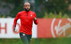 SOUTHAMPTON, ENGLAND - OCTOBER 15: Nathan Redmond during a Southampton FC training session at the Staplewood Campus, on October 15, 2018 in Southampton, England. (Photo by Matt Watson/Southampton FC via Getty Images)