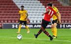 SOUTHAMPTON, ENGLAND - OCTOBER 19: Marcus Barnes (Middle) during the PL2 match between Southampton FC and Wolves pictured at St Mary's Stadium on October 19, 2018 in Southampton, England. (Photo by James Bridle - Southampton FC/Southampton FC via Getty Images)