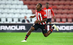 SOUTHAMPTON, ENGLAND - OCTOBER 19: Michael Obafemi near miss during the PL2 match between Southampton FC and Wolves pictured at St Mary's Stadium on October 19, 2018 in Southampton, England. (Photo by James Bridle - Southampton FC/Southampton FC via Getty Images)