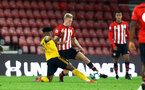 SOUTHAMPTON, ENGLAND - OCTOBER 19: Christoph Klarer (middle) during the PL2 match between Southampton FC and Wolves pictured at St Mary's Stadium on October 19, 2018 in Southampton, England. (Photo by James Bridle - Southampton FC/Southampton FC via Getty Images)