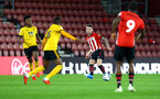 SOUTHAMPTON, ENGLAND - OCTOBER 19: Callum Slattery (middle) during the PL2 match between Southampton FC and Wolves pictured at St Mary's Stadium on October 19, 2018 in Southampton, England. (Photo by James Bridle - Southampton FC/Southampton FC via Getty Images)