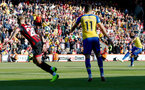 BOURNEMOUTH, ENGLAND - OCTOBER 20: Nathan Redmond of Southampton shoots at goal during the Premier League match between AFC Bournemouth and Southampton FC at Vitality Stadium on October 20, 2018 in Bournemouth, United Kingdom. (Photo by Matt Watson/Southampton FC via Getty Images)