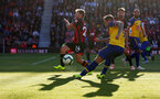 BOURNEMOUTH, ENGLAND - OCTOBER 20: Danny Ings of Southampton shoots at goal during the Premier League match between AFC Bournemouth and Southampton FC at Vitality Stadium on October 20, 2018 in Bournemouth, United Kingdom. (Photo by Matt Watson/Southampton FC via Getty Images)