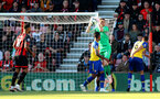 BOURNEMOUTH, ENGLAND - OCTOBER 20: Alex McCarthy of Southampton during the Premier League match between AFC Bournemouth and Southampton FC at Vitality Stadium on October 20, 2018 in Bournemouth, United Kingdom. (Photo by Matt Watson/Southampton FC via Getty Images)