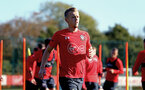 SOUTHAMPTON, ENGLAND - OCTOBER 22: James Ward-Prowse during a Southampton FC training session at Staplewood Complex on October 22, 2018 in Southampton, England. (Photo by James Bridle - Southampton FC/Southampton FC via Getty Images)