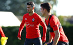 SOUTHAMPTON, ENGLAND - OCTOBER 22: Shane Long during a Southampton FC training session at Staplewood Complex on October 22, 2018 in Southampton, England. (Photo by James Bridle - Southampton FC/Southampton FC via Getty Images)