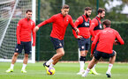 SOUTHAMPTON, ENGLAND - OCTOBER 25: Jan Bednarek during a Southampton FC training session at the Staplewood Campus on October 25, 2018 in Southampton, United Kingdom. (Photo by Matt Watson/Southampton FC via Getty Images)