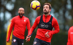 SOUTHAMPTON, ENGLAND - OCTOBER 25: Danny Ings during a Southampton FC training session at the Staplewood Campus on October 25, 2018 in Southampton, United Kingdom. (Photo by Matt Watson/Southampton FC via Getty Images)