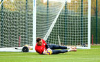 SOUTHAMPTON, ENGLAND - NOVEMBER 06: Alex McCarthy during a Southampton FC training session at Staplewood Complex on November 6, 2018 in Southampton, England. (Photo by James Bridle - Southampton FC/Southampton FC via Getty Images)