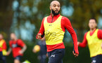SOUTHAMPTON, ENGLAND - NOVEMBER 06: Nathan Redmond during a Southampton FC training session at Staplewood Complex on November 6, 2018 in Southampton, England. (Photo by James Bridle - Southampton FC/Southampton FC via Getty Images)