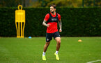 SOUTHAMPTON, ENGLAND - NOVEMBER 06: Danny Ings during a Southampton FC training session at Staplewood Complex on November 6, 2018 in Southampton, England. (Photo by James Bridle - Southampton FC/Southampton FC via Getty Images)