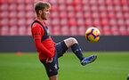 SOUTHAMPTON, ENGLAND - NOVEMBER 07: Jake Vokins during a Southampton FC training session at St Mary's Stadium on November 7, 2018 in Southampton, England. (Photo by James Bridle - Southampton FC/Southampton FC via Getty Images)