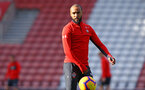 SOUTHAMPTON, ENGLAND - NOVEMBER 07: Nathan Redmond during a Southampton FC training session at St Mary's Stadium on November 7, 2018 in Southampton, England. (Photo by James Bridle - Southampton FC/Southampton FC via Getty Images)