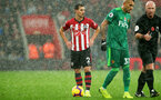 SOUTHAMPTON, ENGLAND - NOVEMBER 10: Cedric Soares of Southampton during the Premier League match between Southampton FC and Watford FC at St Mary's Stadium on November 10, 2018 in Southampton, United Kingdom. (Photo by Chris Moorhouse/Southampton FC via Getty Images)