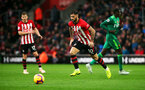 SOUTHAMPTON, ENGLAND - NOVEMBER 10: Charlie Austin of Southampton during the Premier League match between Southampton FC and Watford FC at St Mary's Stadium on November 10, 2018 in Southampton, United Kingdom. (Photo by Chris Moorhouse/Southampton FC via Getty Images)