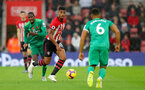 SOUTHAMPTON, ENGLAND - NOVEMBER 10: Mario Lemina of Southampton during the Premier League match between Southampton FC and Watford FC at St Mary's Stadium on November 10, 2018 in Southampton, United Kingdom. (Photo by Matt Watson/Southampton FC via Getty Images)