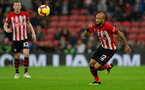 SOUTHAMPTON, ENGLAND - NOVEMBER 10: Nathan Redmond of Southampton during the Premier League match between Southampton FC and Watford FC at St Mary's Stadium on November 10, 2018 in Southampton, United Kingdom. (Photo by Matt Watson/Southampton FC via Getty Images)