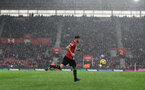 SOUTHAMPTON, ENGLAND - NOVEMBER 10: Wesley Hoedt of Southampton during the Premier League match between Southampton FC and Watford FC at St Mary's Stadium on November 10, 2018 in Southampton, United Kingdom. (Photo by Matt Watson/Southampton FC via Getty Images)