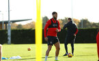 SOUTHAMPTON, ENGLAND - NOVEMBER 13: during a Southampton FC training session at Staplewood Complex on November 13, 2018 in Southampton, England. (Photo by James Bridle - Southampton FC/Southampton FC via Getty Images)