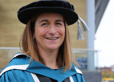 Spacey-Cale receives honorary doctorate