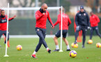 SOUTHAMPTON, ENGLAND - NOVEMBER 22: Nathan Redmond during a Southampton FC training session at the Staplewood Campus on November 22, 2018 in Southampton, England. (Photo by Matt Watson/Southampton FC via Getty Images)