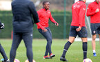 SOUTHAMPTON, ENGLAND - NOVEMBER 22: Michael Obafemi during a Southampton FC training session at the Staplewood Campus on November 22, 2018 in Southampton, England. (Photo by Matt Watson/Southampton FC via Getty Images)