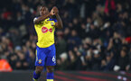LONDON, ENGLAND - NOVEMBER 24: Michael Obafemi of Southampton during the Premier League match between Fulham FC and Southampton FC at Craven Cottage on November 24, 2018 in London, United Kingdom. (Photo by Matt Watson/Southampton FC via Getty Images)