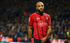 LEICESTER, ENGLAND - NOVEMBER 27: Nathan Redmond during the Carabao Cup Fourth Round match between Leicester City and Southampton at The King Power Stadium on October 30, 2018 in Leicester, England. (Photo by James Bridle - Southampton FC/Southampton FC via Getty Images)