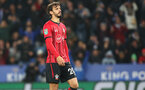 LEICESTER, ENGLAND - NOVEMBER 27: Manolo Gabbiadini of Southampton during the Carabao Cup Fourth Round match between Leicester City and Southampton at The King Power Stadium on November 27th, 2018 in Leicester, England. (Photo by Matt Watson/Southampton FC via Getty Images)