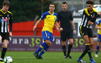 NOTTINGHAM, ENGLAND - NOVEMBER 28: Oriol Romeu (middle) during the Cup match between Notts County and Southampton at IIklestone Town FC on November 28, 2018 in Nottingham, England. (Photo by James Bridle - Southampton FC/Southampton FC via Getty Images)