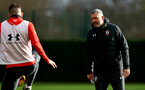 SOUTHAMPTON, ENGLAND - DECEMBER 03: First Team Assistant Coach Kelvin Davis during a Southampton FC training session at the Staplewood Campus on December 3, 2018 in Southampton, England. (Photo by Matt Watson/Southampton FC via Getty Images)