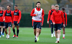 SOUTHAMPTON, ENGLAND - DECEMBER 03: Maya Yoshida(centre) during a Southampton FC training session at the Staplewood Campus on December 3, 2018 in Southampton, England. (Photo by Matt Watson/Southampton FC via Getty Images)
