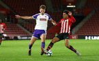 SOUTHAMPTON, ENGLAND - NOVEMBER 04: Christian Norton (right) during the U18's FA Youth Cup match between Southampton FC and Rotherham United pictured at St Mary's Stadium on December 4, 2018 in Southampton, England. (Photo by James Bridle - Southampton FC/Southampton FC via Getty Images)